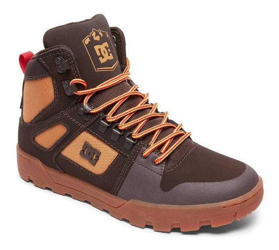 Botas Dc Pure High Top Wr Boot Hombre