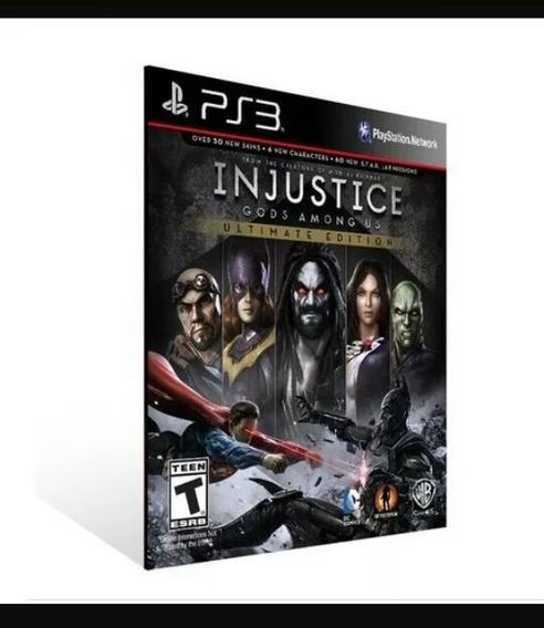 Injustice God Among Us Ultimate Edit. Ps3 Comprar
