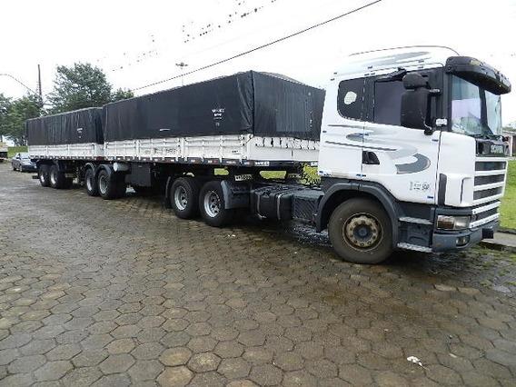 Scania R 124 360 6x2 2001 Bitrem Graneleiro Randon 2005