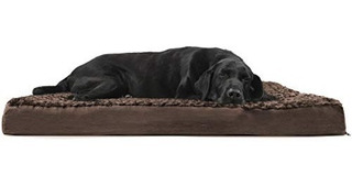 Furhaven Deluxe Orthopedic Pet Bed Mattress Pa