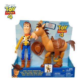 Toy Story 4 Woody Y Tiro Al Blanco Articulados