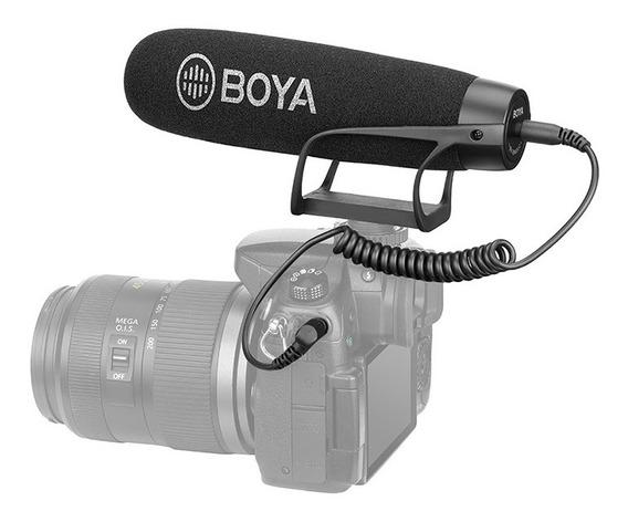 Microfone Direcional P/ Câmera E Celular Boya By-bm2021