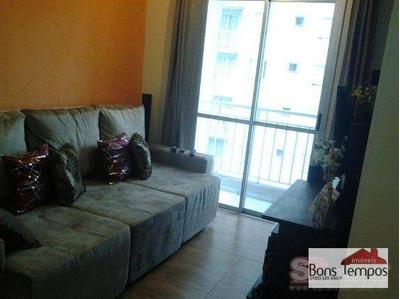 Apartamento Residencial À Venda, Vila Prudente, São Paulo. - Ap3388