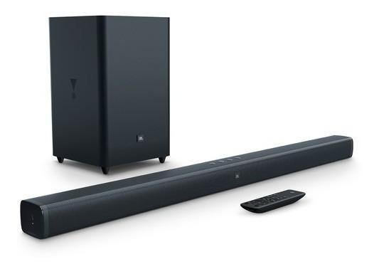 Jbl Bar 2.1ch - Sistema De Soundbar E Subwoofer 300w