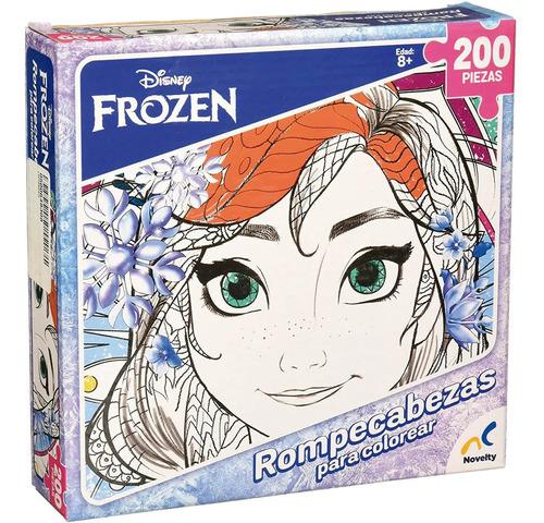 Rompecabezas Para Colorear Mandalas Frozen