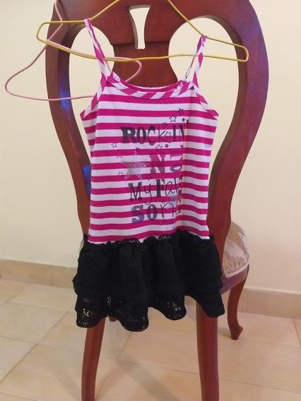 Blusa Niña Talla 10. Usada