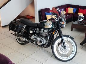 Triumph Bonneville T100 Carburada Llantas Nuevas
