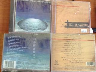 Cd Original Musica - Fernando Delgadillo