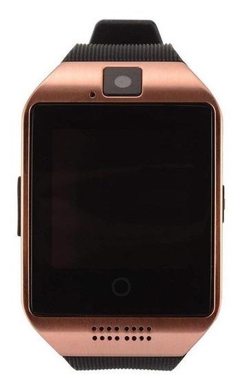 Reloj Smart Watch Táctil Con Cámara Para Android O Ios