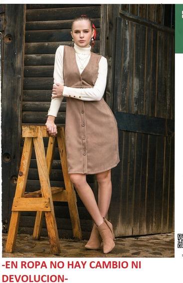 Vestido Rinna Bruni 109234 Cafe .outlet/saldos Mchn