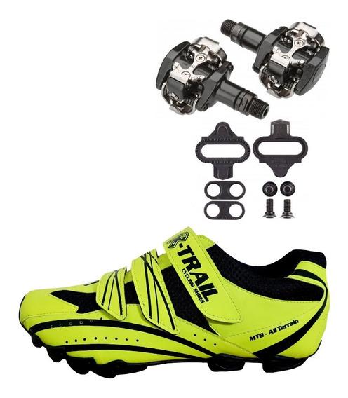 Zapatillas Ciclismo Mtb+pedal Shimano 505 (ahora En Cuotas)