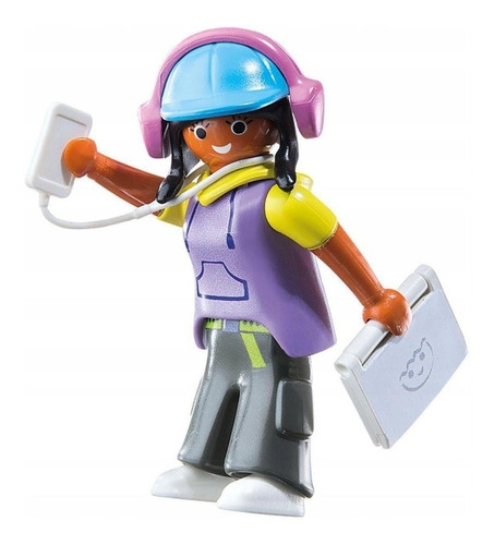 Playmobil Figura Playmo Friends Tecnológica High Tech Sunny