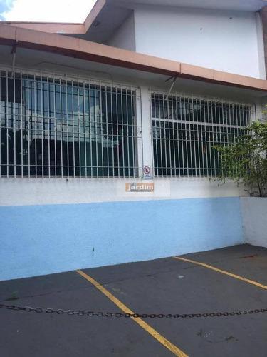 Imagem 1 de 2 de Casa Para Alugar, 300 M² Por R$ 7.000,00/mês - Jardim Do Mar - São Bernardo Do Campo/sp - Ca1075