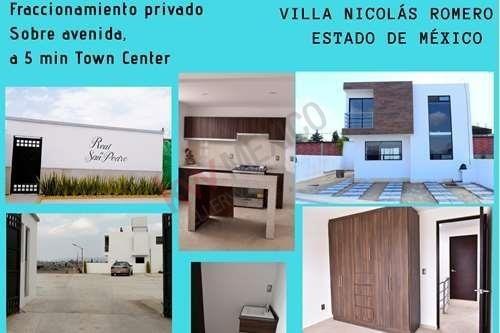 Privada Exclusiva De 23 Casas Real De San Pedro * En Villa Nicolás Romero
