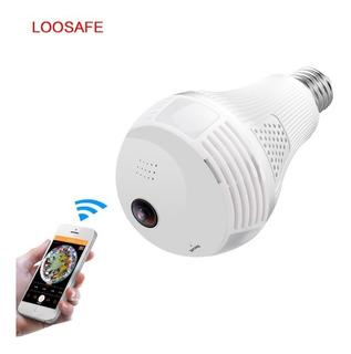 Camara De Seguridad 360 Bombillo Discreta Wifi + Obsequio