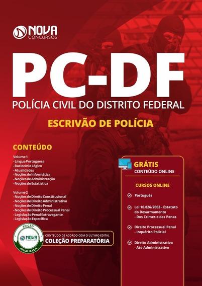 Apostila Concurso Pc Df 2019 Escrivão De Polícia Civil Df