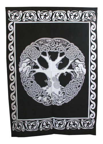 Indian Pared Hanging Art Decor Throw Mandala Árbol De Car