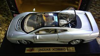 Miniatura Jaguar Xj 220 1992 Maisto Antiga Escala 1:18