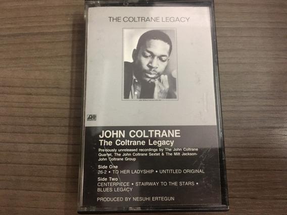 Fita K7 John Coltrane The Coltrane Legacy
