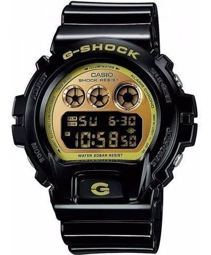 Relógio Digital G-shock Dw-6900cb-1ds Masculino Original Nfe