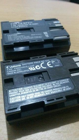 Bateria Camaras Canon Bp511 20d 30d 40d Original