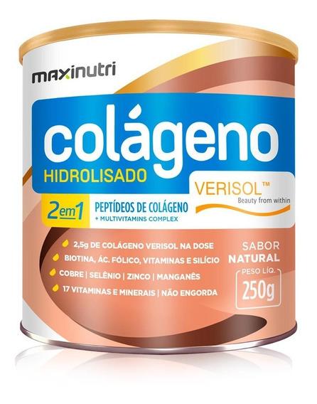 Colágeno Hidrolisado Verisol 2 Em 1 250g -maxinutri Original