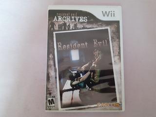 Resident Evil Archives Original Para Nintendo Wii