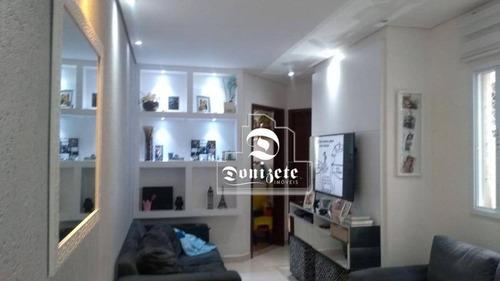 Cobertura À Venda, 112 M² Por R$ 445.000,00 - Campestre - Santo André/sp - Co11525