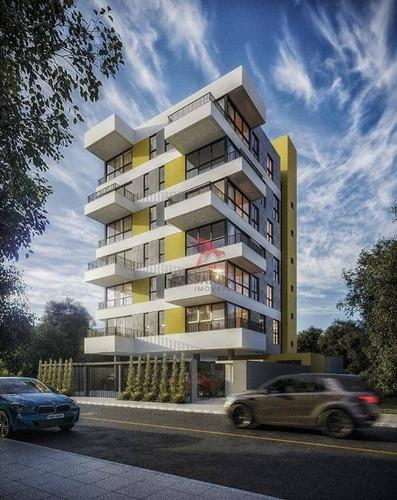 Apartamento Com 2 Dormitórios À Venda, 64 M² Por R$ 525.000,00 - Praia Da Cal - Torres/rs - Ap1982