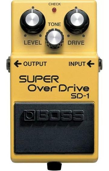 Pedal Boss Sd1 Super Overdrive Sd-1