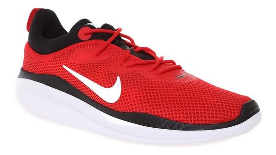 Tenis Originales Nike Acmi Rojo Negro Caballero Ao0268-600