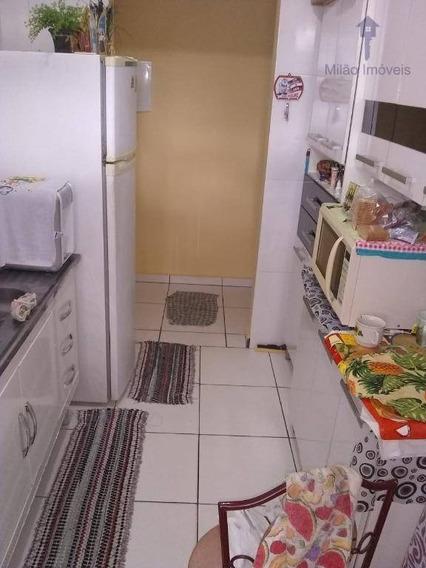 Apartamento Térreo 2 Dormitórios À Venda, 61m², Edifício Europa, Jd. Europa Em Sorocaba/sp - Ap1194