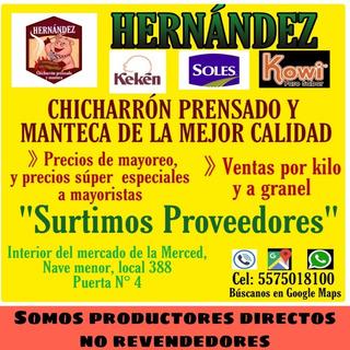 Fabrica De Chicharrón Prensado Hernández