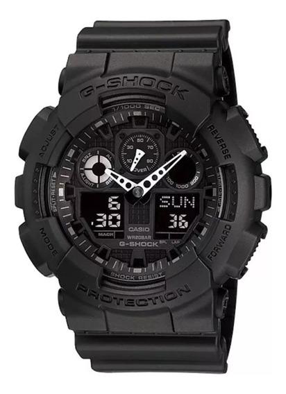 Relógio Casio Masculino G-shock Ga-100-1a1dr Ana-digital