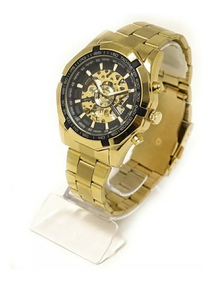 Relógio Masculino Automático Esqueleto Original C/ Caixa Nfe