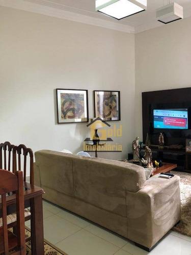 Casa Com 3 Dormitórios À Venda, 145 M² Por R$ 500.000,00 - Centro - Jurucê/sp - Ca1023