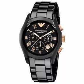 Relógio Emporio Armani Ar1410 Cerâmica Original Unisex