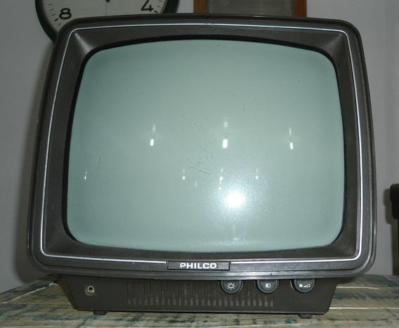 Tv Philco Modelo Pb 12a1 Volts110/220 Preto/branco Funciona