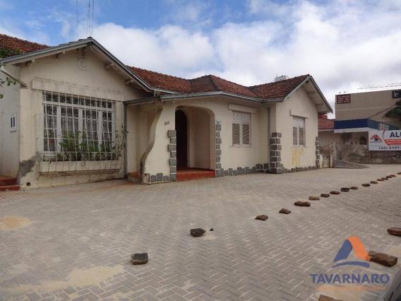 Casa Residencial Para Locação, Centro, Ponta Grossa. - Ca0239