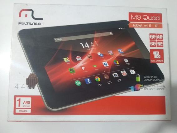 Tablet Multilaser M9 Quad- 8gb Prata Com Memória Ram 1gb
