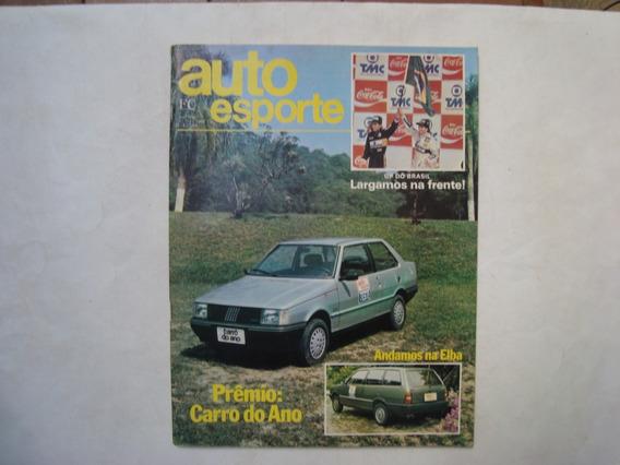 Revista Auto Esporte N. 255 - Prêmio: Carro Do Ano, Elba