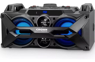 Bafle Portatil Crown Mustang Cma402 Bluetooth 7000w Karaoke