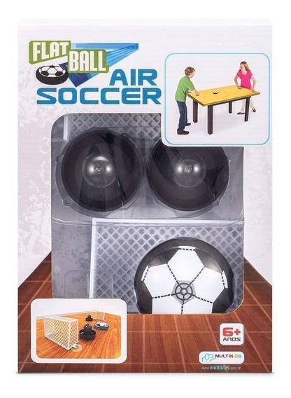 Flat Ball Air Soccer Multikids Futebol Mesa Bola Flutuante