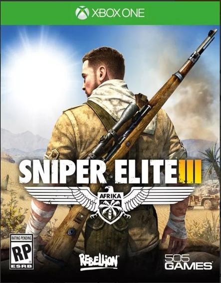 Sniper Elite Iii Xbox One *midia Fisica*
