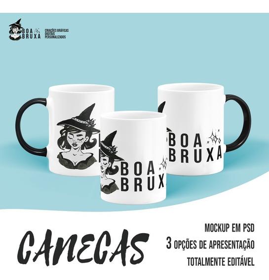 Mockup - Canecas - Produto Digital