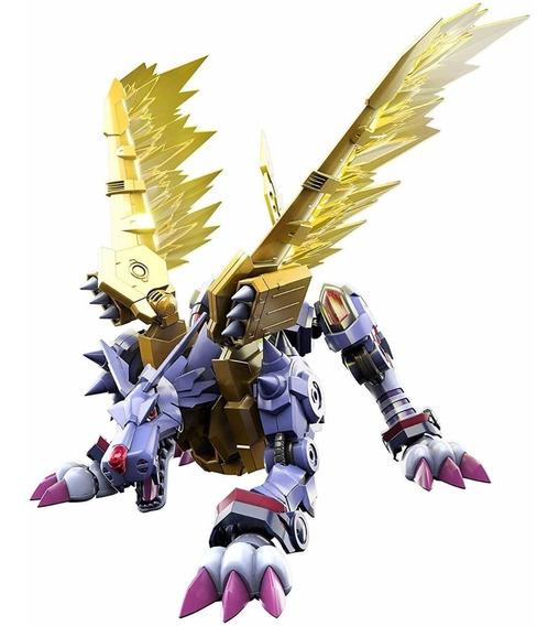 Boneco Metalgarurumon Amplified Digimon Figure-rise Garurumo