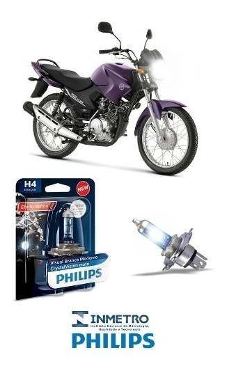 Lâmpada Philips Crystal H4 35w Yamaha Ybr 125 Factor