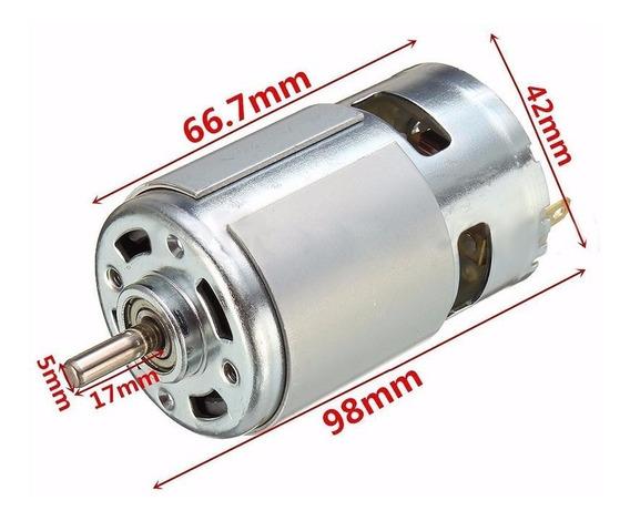 Mini Motor 775- 12 A 36volts 3500 A 9000 Rpm Alto Torque