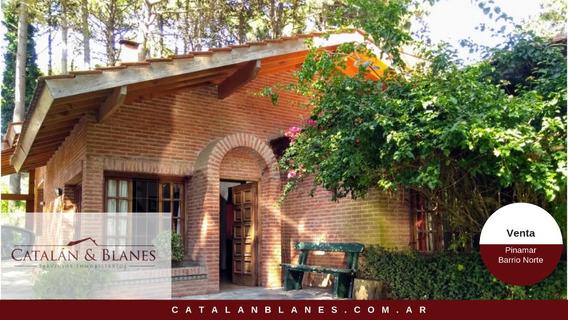Pinamar Norte, Casa Cómoda En El Medio Del Bosque!!