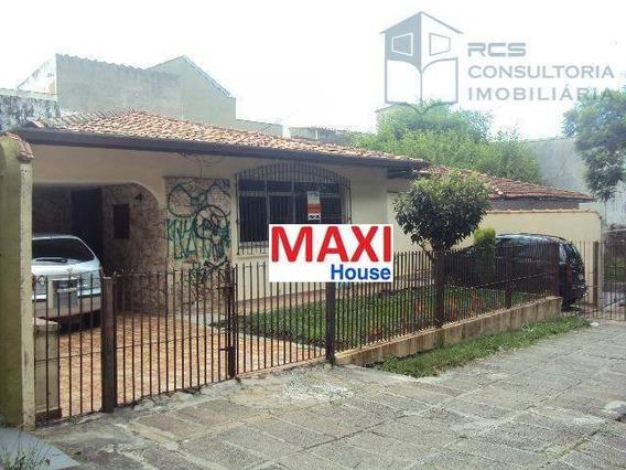 Casa Residencial À Venda, Parque Continental, São Paulo. - Ca0065